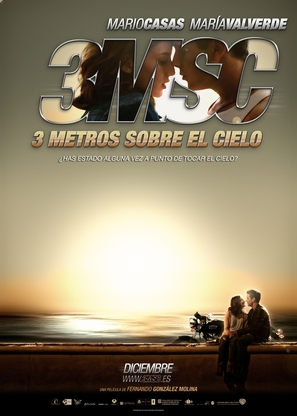 Tres metros sobre el cielo - Spanish Movie Poster (thumbnail)