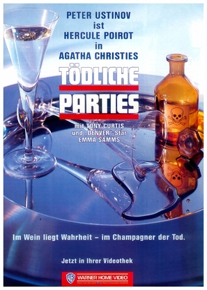 Murder in Three Acts - German VHS cover (thumbnail)