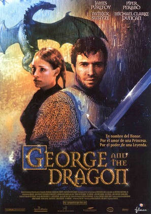 George And The Dragon - Spanish Movie Poster (thumbnail)
