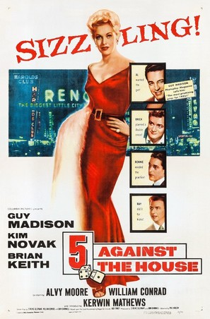 5 Against the House - Movie Poster (thumbnail)
