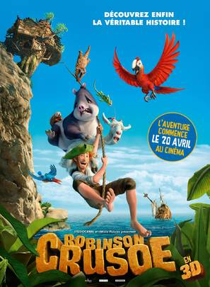 Robinson - French Movie Poster (thumbnail)