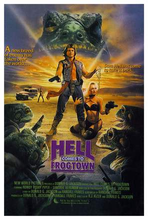 Hell Comes to Frogtown - Movie Poster (thumbnail)