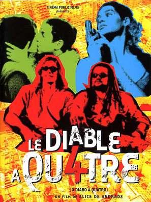 Diabo a Quatro, O - French poster (thumbnail)