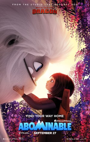 Abominable - Movie Poster (thumbnail)
