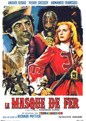 Il prigioniero del re - French Movie Poster (thumbnail)