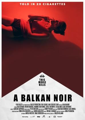 A Balkan Noir - Swedish Movie Poster (thumbnail)