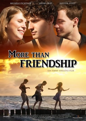 More Than Friendship - German Movie Poster (thumbnail)
