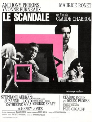 Le scandale - French Movie Poster (thumbnail)