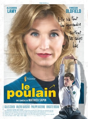 Le poulain - French Movie Poster (thumbnail)