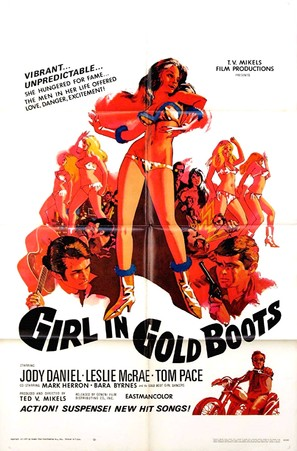 Girl in Gold Boots - Movie Poster (thumbnail)
