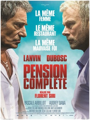 Pension complète - French Movie Poster (thumbnail)