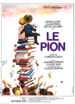 Le pion - French Movie Poster (thumbnail)