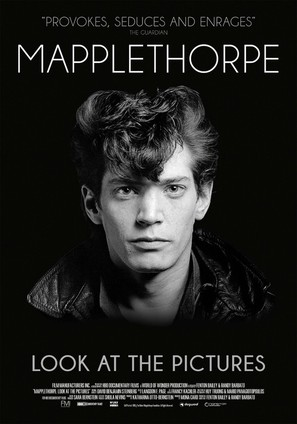 Mapplethorpe: Look at the Pictures - Swedish Movie Poster (thumbnail)