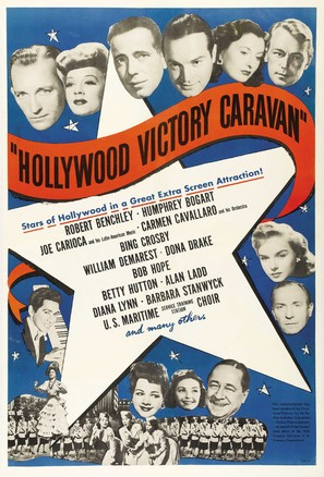 Hollywood Victory Caravan - Movie Poster (thumbnail)
