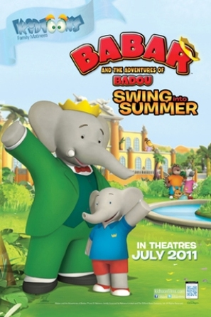 """Babar and the Adventures of Badou"" - Canadian Movie Poster (thumbnail)"