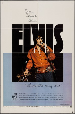 Elvis: That's the Way It Is - Movie Poster (thumbnail)