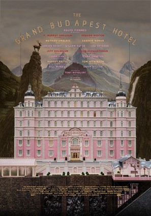 The Grand Budapest Hotel - Movie Poster (thumbnail)