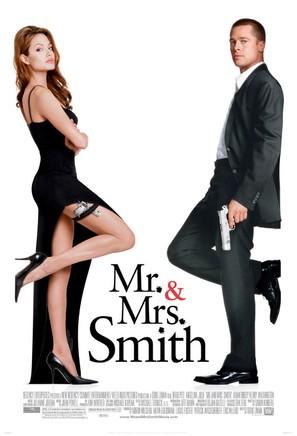 Mr. & Mrs. Smith - Theatrical movie poster (thumbnail)