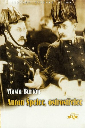 Anton Spelec, ostrostrelec - Czech Movie Poster (thumbnail)