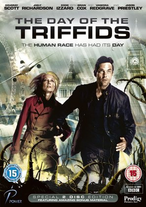 """The Day of the Triffids"" - British Movie Cover (thumbnail)"