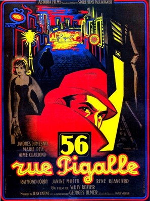 56, rue Pigalle - French Movie Poster (thumbnail)