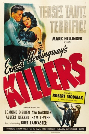 The Killers - Movie Poster (thumbnail)