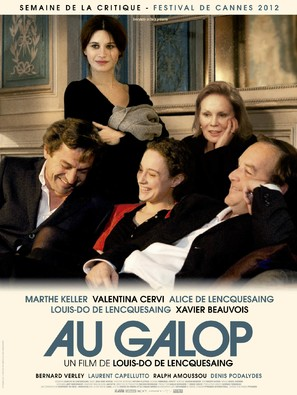 Au galop - French Movie Poster (thumbnail)