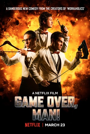 Game Over, Man! - Movie Poster (thumbnail)