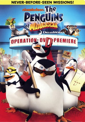 The Penguins of Madagascar - Operation: Get Ducky - DVD movie cover (thumbnail)