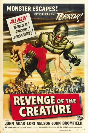 Revenge of the Creature - Movie Poster (thumbnail)