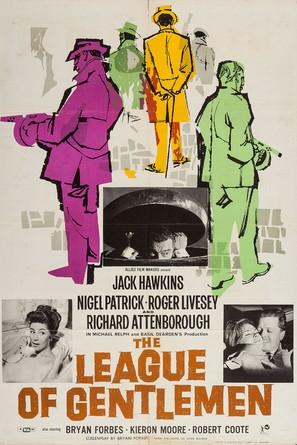 The League of Gentlemen - British Movie Poster (thumbnail)