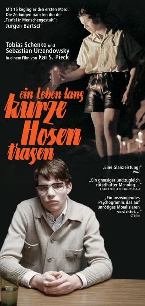 Leben lang kurze Hosen tragen, Ein - German poster (thumbnail)