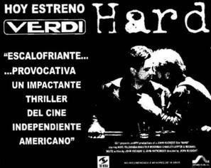 Hard - Spanish poster (thumbnail)