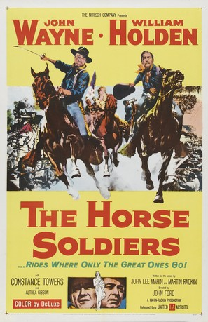 The Horse Soldiers - Movie Poster (thumbnail)