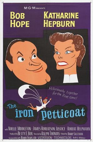 The Iron Petticoat - Movie Poster (thumbnail)