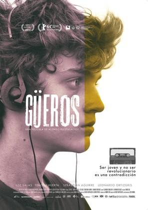 Güeros - Mexican Movie Poster (thumbnail)