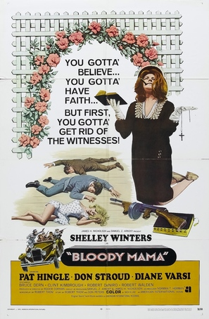 Bloody Mama - Movie Poster (thumbnail)