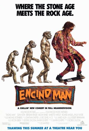 Encino Man - Movie Poster (thumbnail)