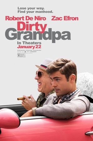 Dirty Grandpa - Theatrical movie poster (thumbnail)