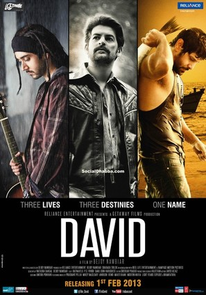 David - Indian Movie Poster (thumbnail)