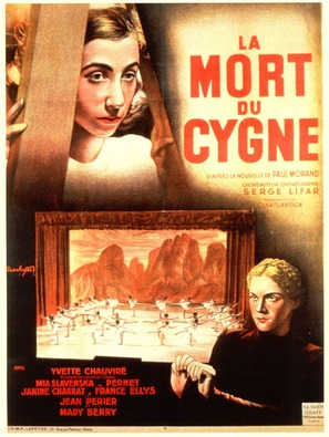 Mort du cygne, La - French Movie Poster (thumbnail)
