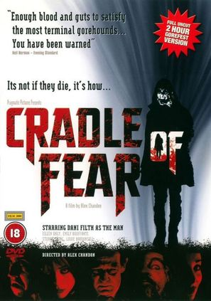 Cradle of Fear - British DVD cover (thumbnail)