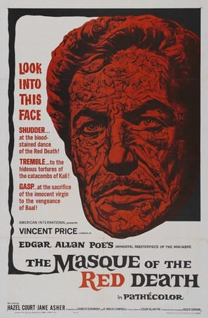 The Masque of the Red Death - Theatrical poster (thumbnail)