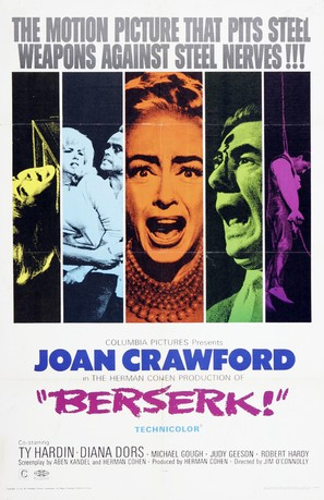 Berserk! - Movie Poster (thumbnail)