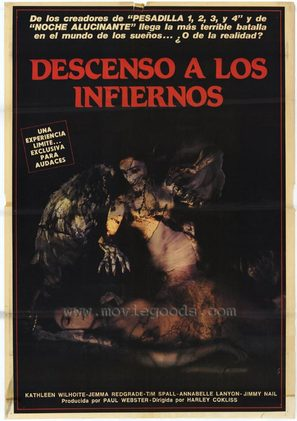 Dream Demon - Argentinian Movie Poster (thumbnail)
