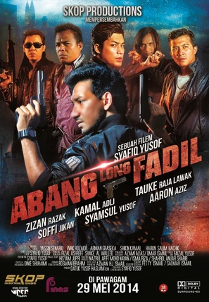 Abang Long Fadil - Malaysian Movie Poster (thumbnail)