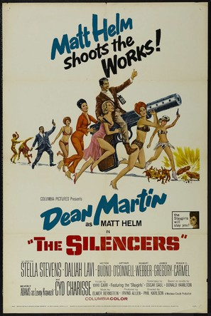 The Silencers - Movie Poster (thumbnail)