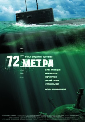 72 Meters - Russian Movie Poster (thumbnail)