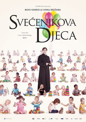 Svecenikova djeca - Croatian Movie Poster (thumbnail)