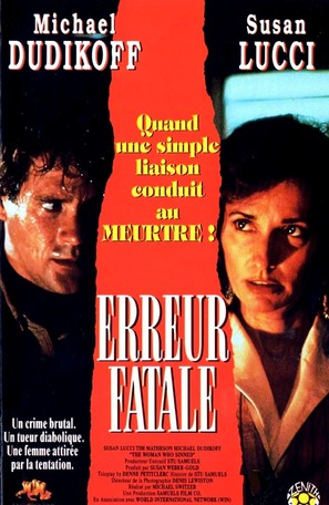 The Woman Who Sinned - French VHS movie cover (thumbnail)